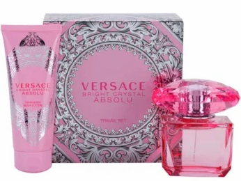 Versace Bright Crystal Absolu Fragrance for Women 2 Piece Gift Set