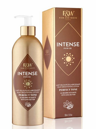 Fair & White Intense Power Perfect Tone Brightening Lotion with Shea Butter 17.6 oz