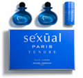 Sexual Paris Tendre Pour Homme by Michel Germain for Men 3 Piece Fragrance Gift Set
