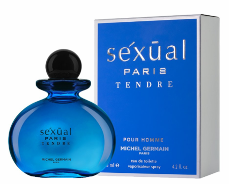 Sexual Paris Tendre Pour Homme by Michel Germain Fragrance for Men Eau de Toilette Spray 4.2 oz 2020