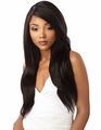 Outre & Play Natural Straight 360 Lace Wig Human Hair Blend