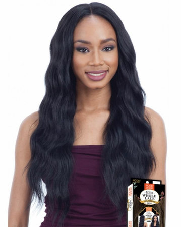 Model Model EL 002 Whole Lace Wig Synthetic New