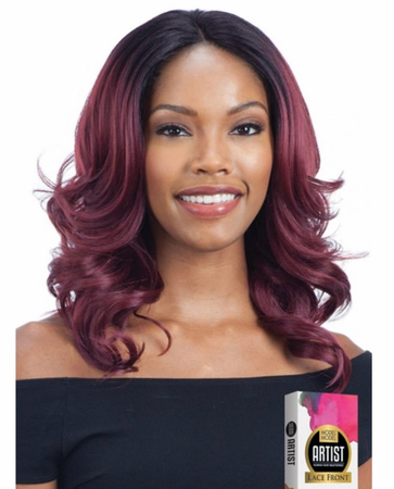 Model Model Artist AT-215 Lace Front Wig Human Hair Blend