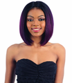 Model Model 6-Inch Livia Lace Part Wig Synthetic