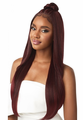 Outre Perfect Hairline Iman Swiss Lace Hand-Tied Wig Synthetic New 2019