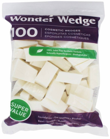 Wonder Wedge Cosmetic Wedges 100 count 06000