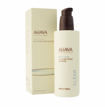 Ahava Time To Clear Toning Cleanser All In One 8.5 fl oz