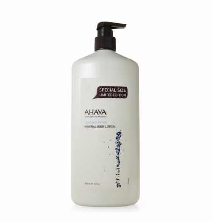 Ahava Deadsea Water Mineral Body Lotion 24oz