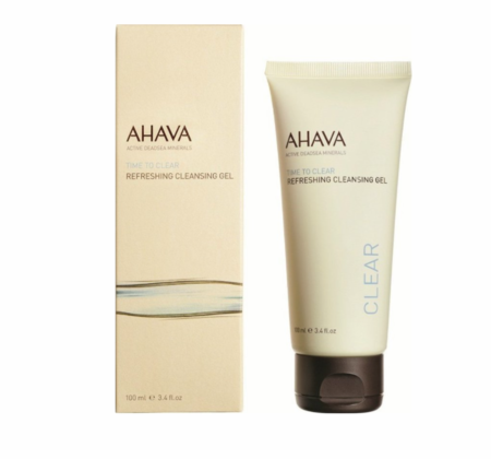 Ahava Time To Clear Refreshing Cleansing Gel 3.4 fl oz
