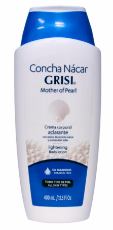 Grisi Mother of Pearl Body Lotion Lightening 13.5 oz