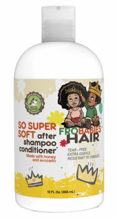 Fro Babies Hair So Super Soft After Shampoo Conditioner 12 oz