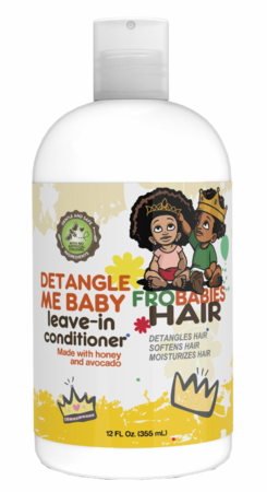 Fro Babies Hair Detangle Me Baby Leave-In Conditioner 12 oz