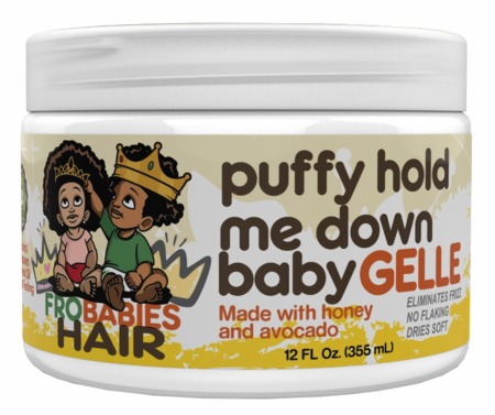 Fro Babies Hair Puffy Hold Me Down Baby Gelle 12 oz