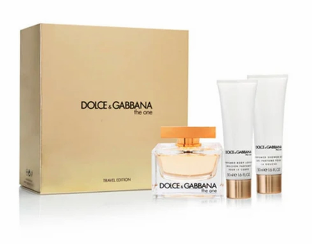 The One by Dolce & Gabbana for Women 3 Piece Fragrance Gift Set 2019