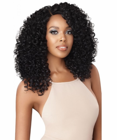 Outre L-Parting Blanca Swiss Lace Front Wig Synthetic New 2019