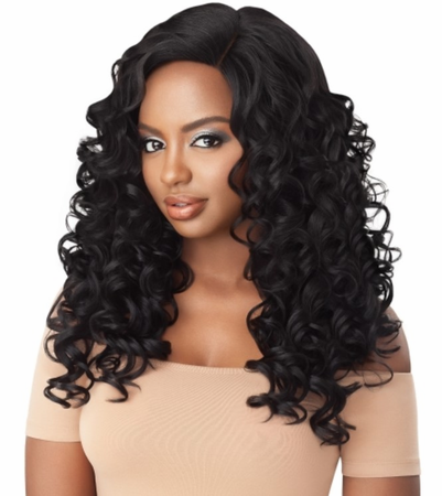 Outre L-Parting Ronika Swiss Lace Front Wig Synthetic New 2019