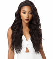 Outre & Play Natural Loose Wave 360 Lace Wig Human Hair Blend New 2019