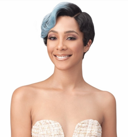 Bobbi Boss Premium Evonie Swiss Lace Front Wig Synthetic
