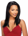 Sensual Vella Vella Straight Lace Front Wig Indian Remi Human Hair