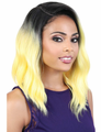 Motown Tress Half-Moon LDP-Curve 3 Lace Front Wig Synthetic New 2019