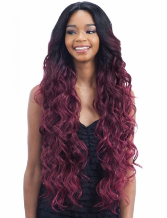 Model Model Premium Seven Star EV-001 Lace Front Wig Synthetic New 2019