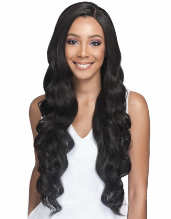 Bobbi Boss Pekela Lace Front Wig Human Hair Blend