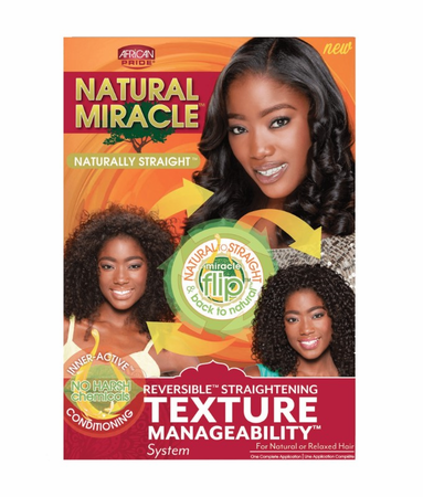 African Pride Natural Miracle Texture Manageability System Kit