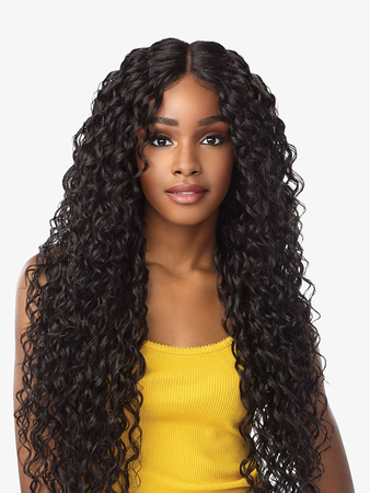 Sensationnel Empress Nayana Lace Front Wig Synthetic