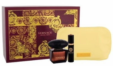 Crystal Noir by Versace for Women 3 Piece Fragrance Gift Set 2018