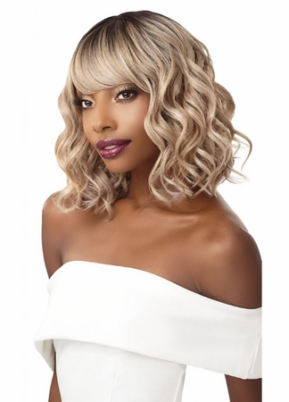 Outre Quick Weave Complete Cap Virginia Wig Synthetic
