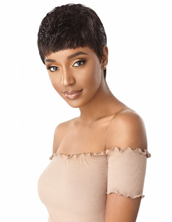 Outre Duby Pre-Bumped Robyn Wig Human Hair New 2019