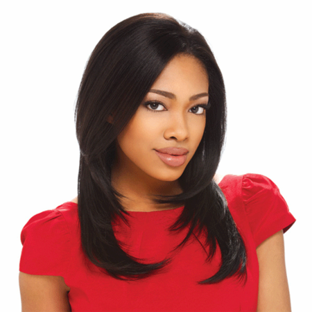 Sensationnel Ashley Lace Front Wig Human Hair