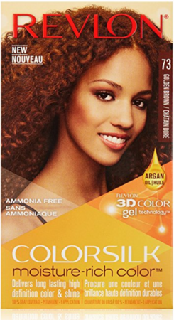 Revlon ColorSilk Moisture-Rich Color 73 Golden Brown