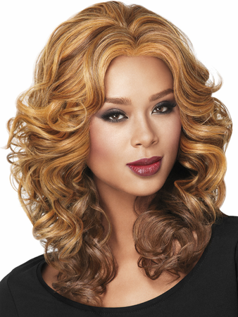 Casual Curl Lace Front Wig by Sherri Shepherd