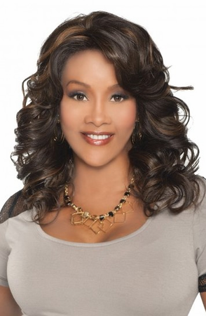 Vivica A Fox Goldie Lace Front Wig Synthetic