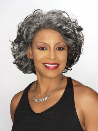 Foxy Silver Darlene Lace Front Wig Synthetic