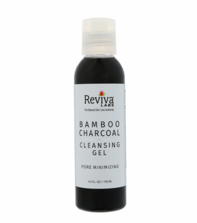 Reviva Labs Bamboo Charcoal Cleansing Gel 4oz