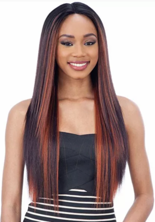 Freetress Equal Mattie Lace Front Wig Synthetic