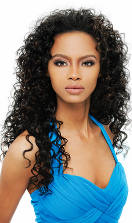 Outre Quick Weave Amber Half Wig Synthetic
