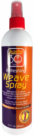 Salon Pro 30 Seconds Refreshing Weave Spray 12oz