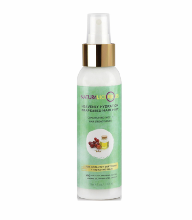 Naturalicious Heavenly Hydration Grapeseed Hair Mist 4 fl oz