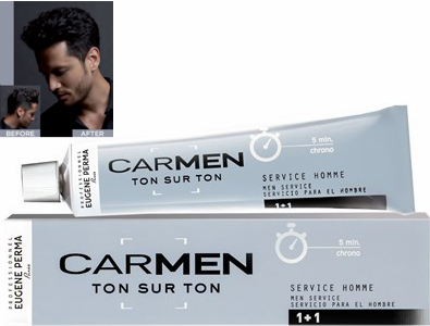 Eugene Perma Professional Carmen Ton sur Ton for Men Hair Color M2 Dark Brown 2.03 oz 2019