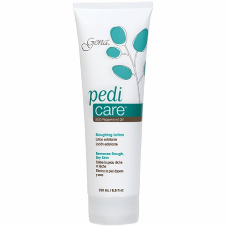 Gena Pedi Care Sloughing Lotion with Peppermint Oil 8.5 oz
