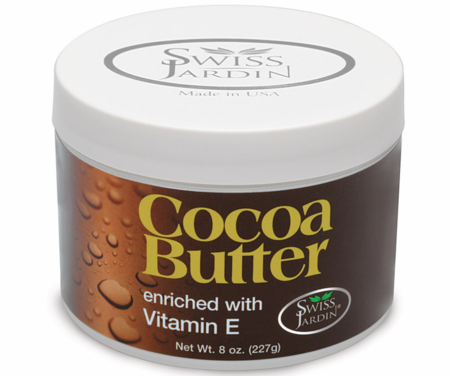 Swiss Jardin Cocoa Butter Cream Enriched with Vitamin E 8oz