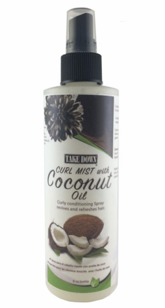 Take Down Curl Mist With Coconut Oil 8 oz