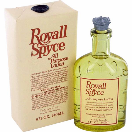 Royall Spyce for Men All Purpose Lotion 8 oz