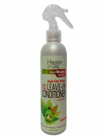Hawaiian Silky 14 In 1 Miracles Apple Cider Vinegar Leave-In Conditioner 8oz