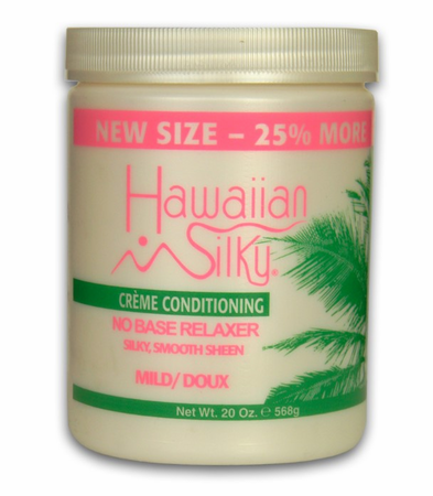 Hawaiian Silky No Base Relaxer Silky Smooth Sheen - Mild 20oz