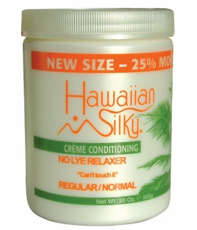 Hawaiian Silky Creme Conditioning No Lye Relaxer Regular 20oz