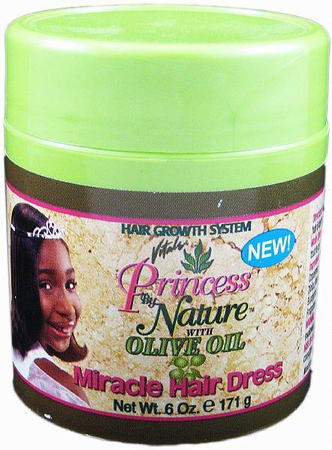Vitale Princess By Nature Miracle Hair Dress with Olive Oil 6 oz